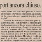 """articolo de """"Il Gazzettino di Padova"""" del 29 maggio 2009"""