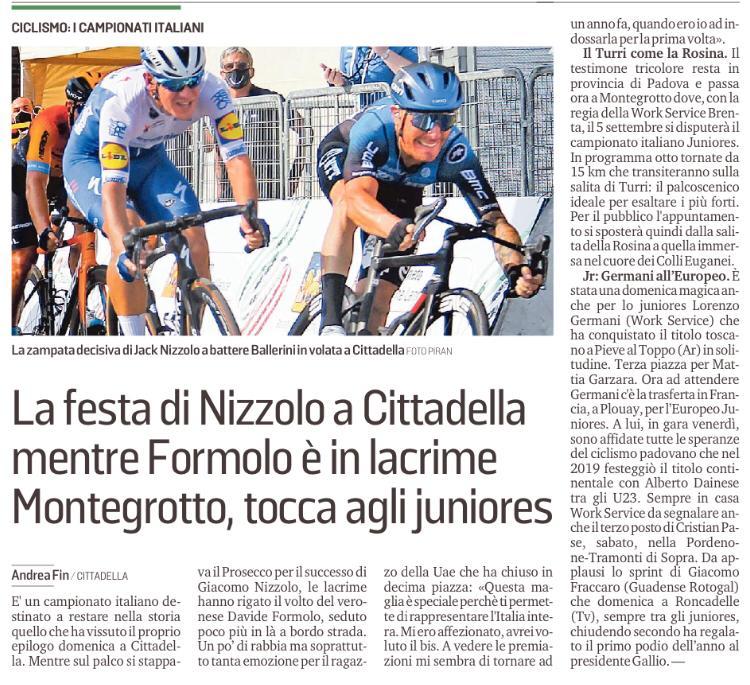 Montegrotto Juniores campionati italiani
